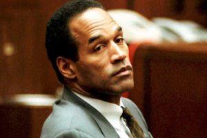 OJ Simpson in court