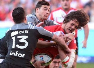 Crusaders v Lions Super Rugby